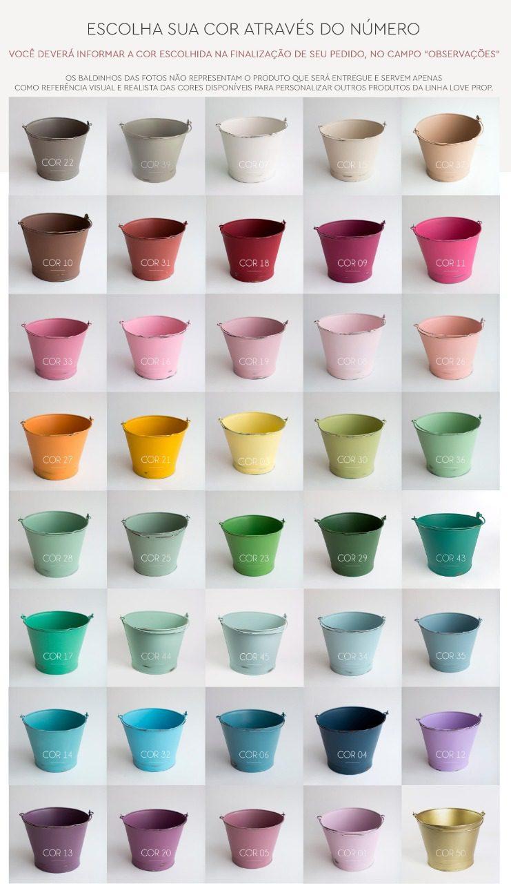 Tabela de cores personalizadas LoveProp