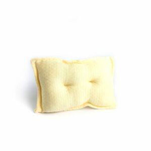 Mini travesseiro para futton Amarelo