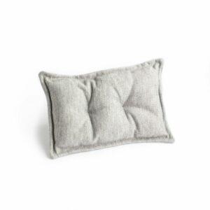 Mini travesseiro para futton Cinza