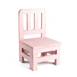 Cadeirinha Colonial Cor 02 - Rosa pastel