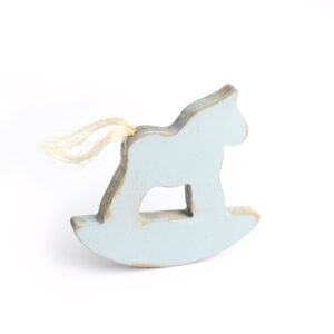 Cavalinho com guizo Azul