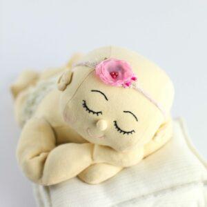Headband flor - Modelo I Rosa