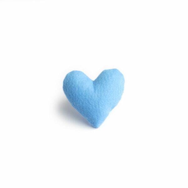 Coração mini Azul
