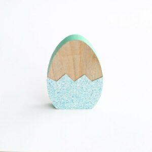 Silhueta de ovo de páscoa Mint  P