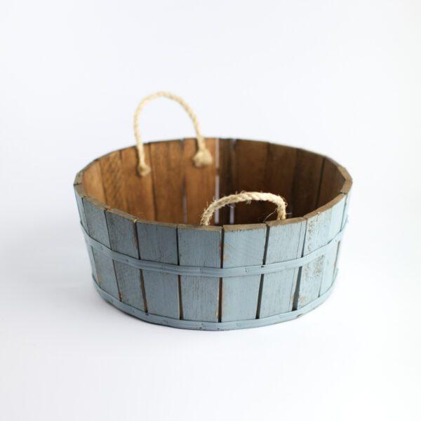 Tina de madeira básica Cor 35 - Azul pastel