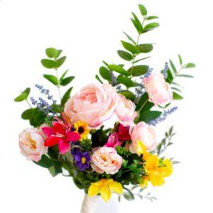 Arranjo Floral Primavera Colorido  G