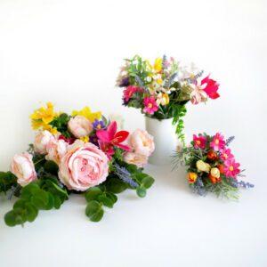Arranjo Floral Primavera Colorido  P