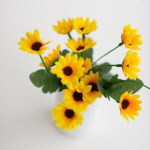 Arranjo Flores do Campo Girassol Amarelo