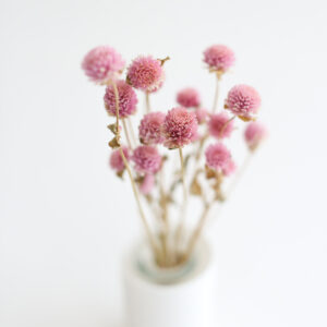 Florzinha rústica Natural Rosa