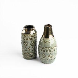 Vasinho para cenário de cerâmica - Modelo II Cinza