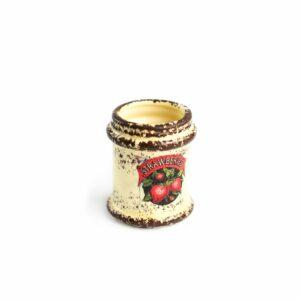 Vasinho de cerâmica strawberies Nude