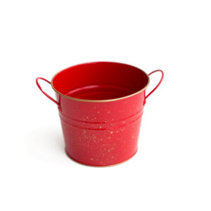 Mini baldinho Vermelho  P