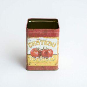 Mini latinha para cenário 4-1 (vintage) Vermelho  M