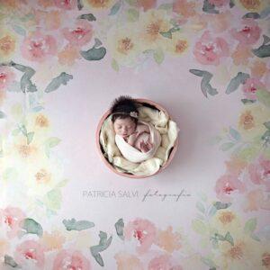 Fundo fotográfico floral I Rosa  P