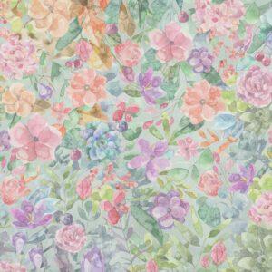 Fundo fotográfico floral II Colorido  G