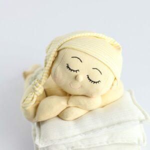 Touca Soneca Amarelo  Newborn