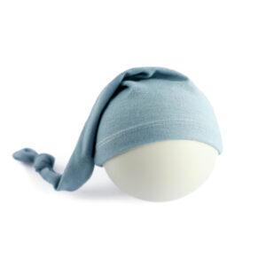 Touca Soneca Azul claro Newborn