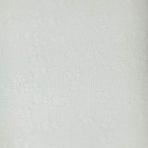 Manta texturizada de tecido para puff II Bege