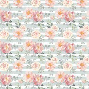 Fundo fotográfico floral VI Colorido  G