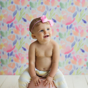 Fundo fotográfico floral X Colorido  P