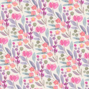 Fundo fotográfico floral XIII Colorido  G