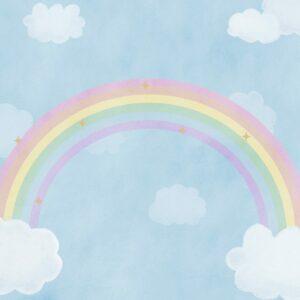 Fundo fotográfico arco íris I Colorido  G