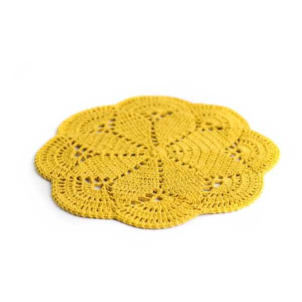 Layer crochet Amarelo