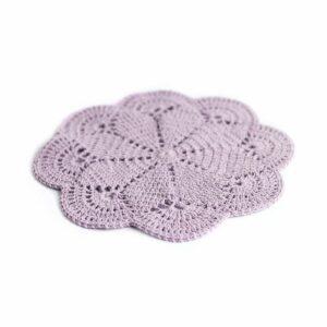 Layer crochet Lilás