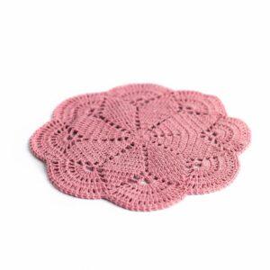 Layer crochet Rosa