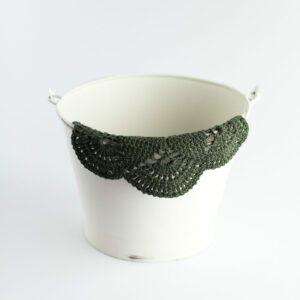 Layer crochet Verde musgo