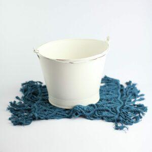 Layer macramê retangular - Modelo II Azul