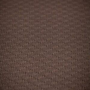 Manta de lã texturizada para puff (dupla face) Marrom