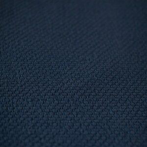 Manta de lã texturizada para puff Botone Azul