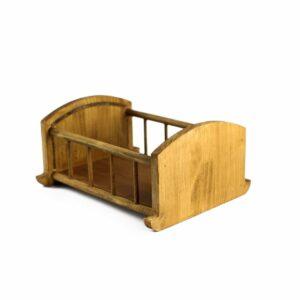Bercinho de madeira Clássico Mini Natural