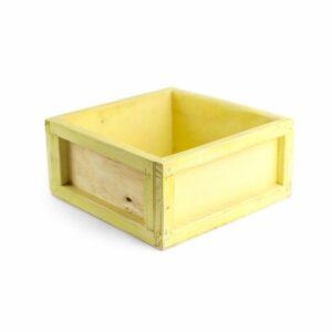 Caixinha color Modelo I Cor 03 - Amarelo claro