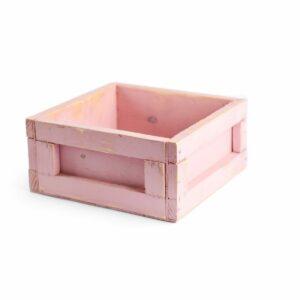 Caixinha color Modelo II Cor 02 - Rosa pastel