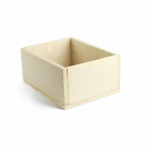 Caixinha de madeira multifuncional Cor 15 - Nude