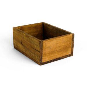 Caixinha de madeira multifuncional Marrom