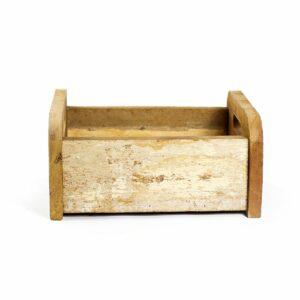 Bercinho de madeira de demolição Baixo - Modelo VI Nude