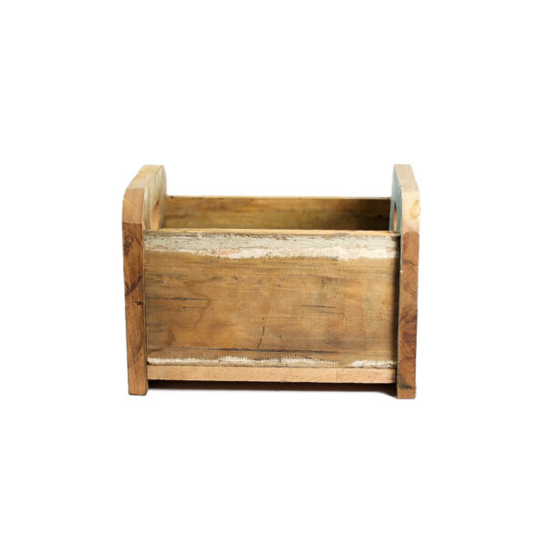 Bercinho de madeira de demolição Mini - Modelo II Natural