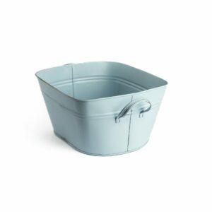 Tina lisa com alça de aluminio Cor 34 - Azul clarinho