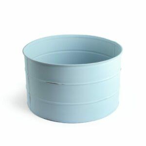 Tamborzinho de ferro Cor 34 - Azul clarinho