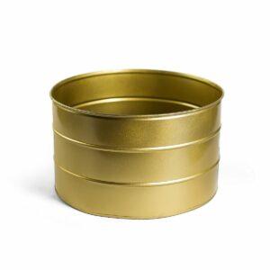 Tamborzinho de ferro Cor 50 - Dourado