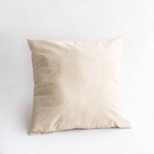 Almofada lisa com enchimento quadrada Nude