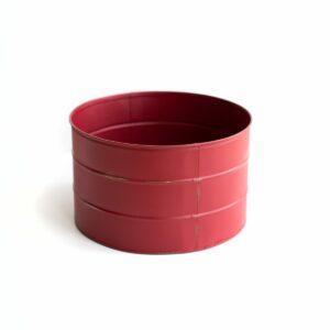 Tamborzinho de ferro Cor 18 - Vermelho bordô